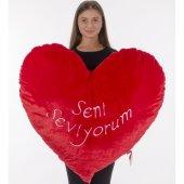 Sevgiliye Kalp Yastık 100 Cm