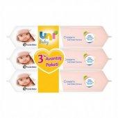 Uni Baby Cream Islak Mendil 3 Lü 9470385