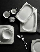 Emsan Fine Pearl Selen Platinium 83 Parça İnci Yemek Takımı