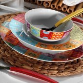 Kütahya Porselen Leonberg 8660 48 Parça 12 Kişilik Yemek Takımı