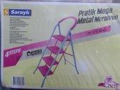 Lady 4 Basamaklı Pratik Mega Metal Merdiven