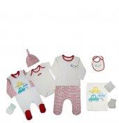 Baby Corner 8130 10&primelu Set Kırmızı Araba Desenli