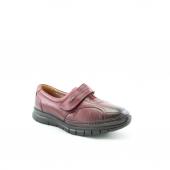 Forelli 29445 B 100 Deri Kemik Ayakkabısı Bordo