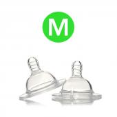 Twistshake Twistshake İkili Anti Colic Biberon Emziği Medium 2+ Ay M2mbe