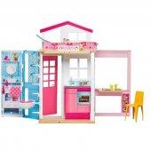 Mattel Barbie Portatif Evi Dvv47