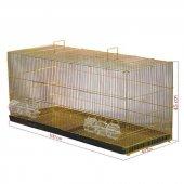 Sarı Galvanizli Salma Kuş Kafesi 40 X 45 X 100cm