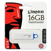 Kingston 16gb Usb3.0 Memory Dtıg4 16gb Beyaz Mavi