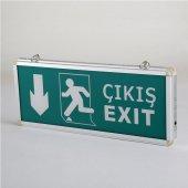 Cata Ct 9167 Ledli Acil Çıkış Exit Yönlendirme Armatürü Aşağı Yön