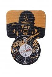 Sniper Poligon Asker Dekoratif Duvar Saati
