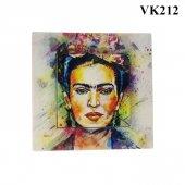 Dekoratif Baskılı Elektrik Düğmesi Priz Kapı Zili Frida Kahlo