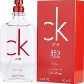Calvin Klein One Red 100 Ml Edt Kadın Parfümü