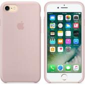 Apple Orijinal İphone 7 8 Kum Pembesi Silikon Kılıf