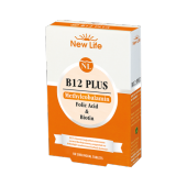 New Lıfe B12 Plus B12 Vitamini 60 Kapsül Takviye Edici Gıda