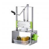 Cancan Ananas Soyma Makinesi Komple Paslanmaz 2 Bıçaklı