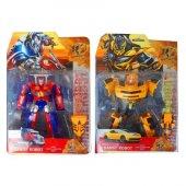 Transformers Dönüşebilen Robot Sarı