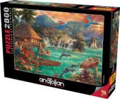 Anatolia 2000 Parca Ada Hayatı Puzzle