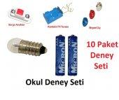 Okul Deney Seti 10 Paket