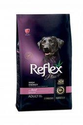 Reflex Plus Yüksek Aktivite Dana Etli Köpek Maması 15 Kg