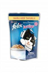 Felix Tavuklu Yavru Kedi Maması 100 Gr