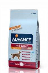 Advance Dog Kuzu Etli Pirinçli Köpek Maması 12 Kg