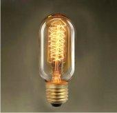 Edison Bulb 40w T 45 Rustik Ampul Aviza