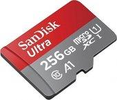 Sandisk Ultra 256gb 100mb S Microsdxc Class10 Hafıza Kartı Sdsqua