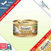 Gourmet Gold Kıyılmış Sebzeli Ördekli Kedi Konservesi 85 Gr 6 A