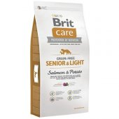 Brit Care Senior Light Tahılsız Somonlu Diyet Yaşlı Köpek Maması