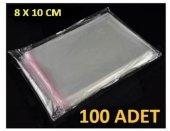 Kilitli Poşet 8 X 10 Cm (100 Adet)