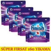 Finish Quantum Tablet Deterjan 160 Adet