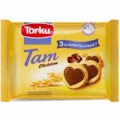 Torku Tam Çikolatam Bisküvi 83 Gr X 3 Adet