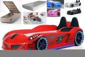 Bazalı Araba Yataklar Farinay Jaguar Sırtlıklı +baza +yatak +nevr