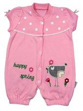 Necix Baby Happy Sipring Model Yazlık Tulum 0 3 6 9 Ay