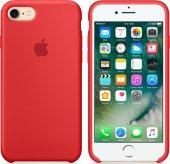 Fonemax Apple İphone 7 8 Silikon Kılıf Kırmızı