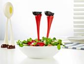 Ayak Tasarımlı Dekoratif Salata Kaşığı