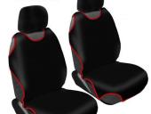 Kolay Takılabilen Oto Atlet Koltuk Kılıfı 2 Li Set (Siyah)