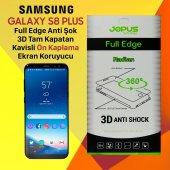 Jopus Samsung S8 Plus Ön Yüz Kapatan Ekran Koruyucu Film Kılıf