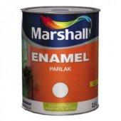Marshall Enamel Parlak Yağlı Boya 0,75 Lt Beyaz
