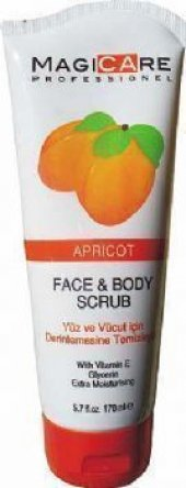 Magicare Face&body Sucrub Aprıcot 200 Ml
