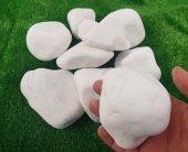 Beyaz Dolomit Taş 25 Kg 6 10 Cm Cm Doğal Taş Süs Taşı Dekor Taşı Dekoratif Taş Tamburlu Taş Dolamit Taşı Dekorasyon Taşı