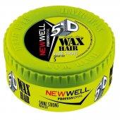 New Well Professional 5d Wax Hair Shine Strong Parlak Sert 150 Ml