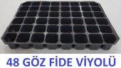 Fide Viyolu 48 Gozlu 10 Adet Fide Yetiştirme Kabı Tohum Çimlendirme Kabı Fidan Viyol Fide Viyol