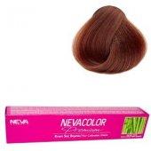 Neva Color Tüp Saç Boyası 7.90 Kumral Tütün Kahve 50 Gr