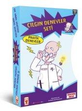 çılgın Deneyler Seti 4 Kitap Dr.gripsin Laboratuarı Timaş