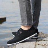 Conteyner 211 Nubuk Sıyah Gunluk Erkek Ayakkabı