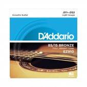 Daddarıo Ez910 Akustik Tel Set Light (.011) Z910