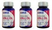 Balık Yağı+krill Yağı+vitamin D 60 Softgel 3 Kutu