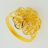 Cigold 14 Ayar Taşsız Yüzük K1yzk0267000933