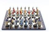 Satranç Takımı(A), Osmanlı Ve Bizans Askerleri
