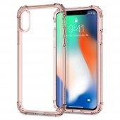 Iphone X Kılıf, Spigen Crystal Shell Rose Crystal